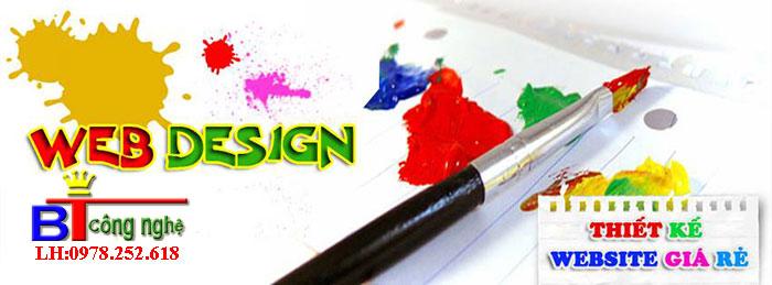 Thiết kế website giá rẻ chuyên nghiệp