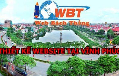 Thiết kế website tại vĩnh phúc chuyên nghiệp giá rẻ