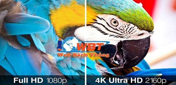 đặc điểm nổi bật của công nghệ tivi 4k là gì?
