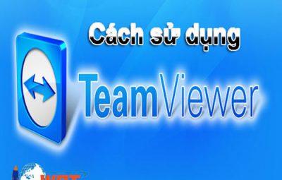 cách sử dụng teamviewer