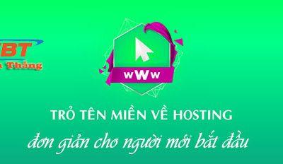 Cách trỏ tên miền TenTen về hosting đơn giản nhanh chóng
