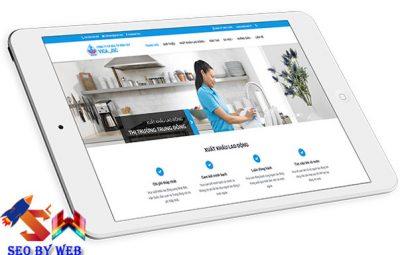Thiết kế website xuất khẩu lao độngThiết kế website xuất khẩu lao động
