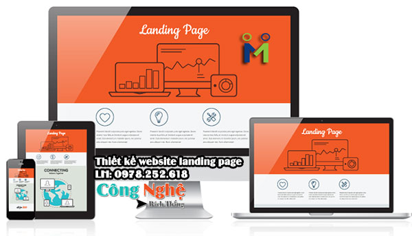 Thiết kế website Landing page