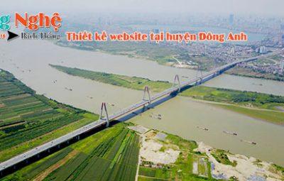 Thiết kế website tại huyện Đông Anh