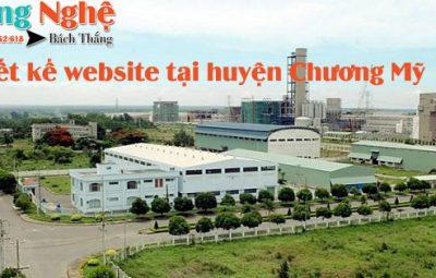 Thiết kế website tại huyện Chương Mỹ