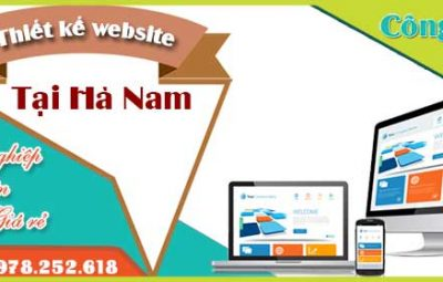 Thiết kế website tại Hà Nam giá cạnh tranh chất lượng số 1 VN
