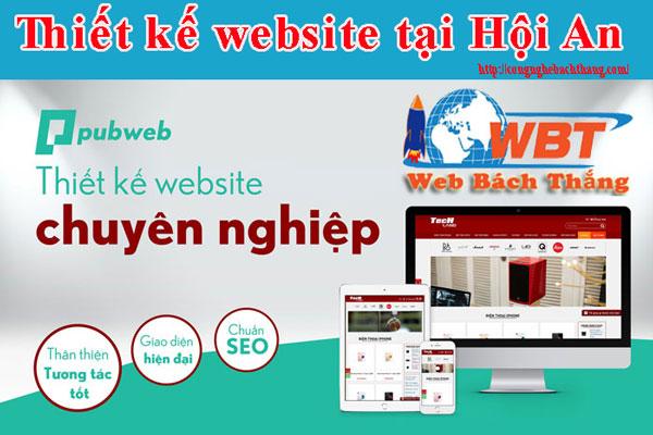 thiết kế website tại hội an chuyên nghiệp