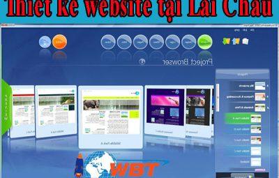 thiết kế website tại lai châu đẹp