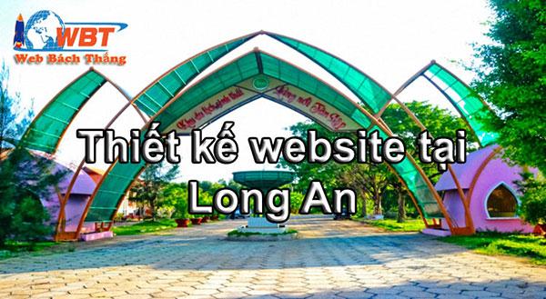 Thiết kế website tại Long An chuyên nghiệp