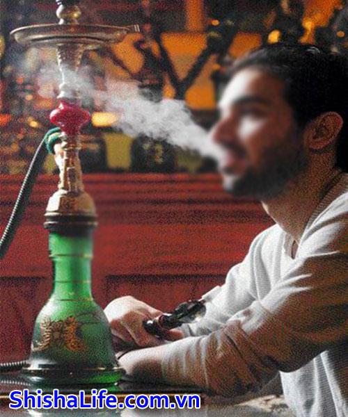 hút bình shisha ở nhà nội
