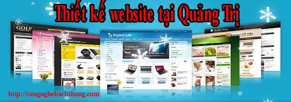 Thiết kế website tại Quảng Trị giá rẻ CNBT