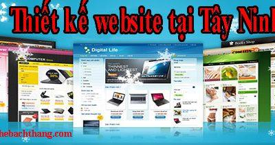 Thiết kế website tại Tây Ninh giá rẻ CNBT