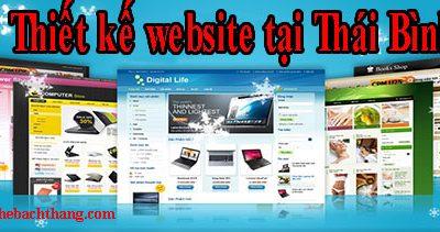 Thiết kế website tại Thái Bình CN BT