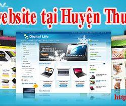 Thiết kế website tại Huyện Thường Tín giá rẻ CN BT