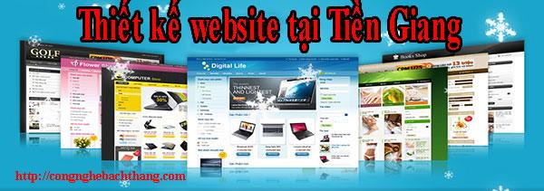 Thiết kế website tại Tiền Giang giá rẻ CN BT
