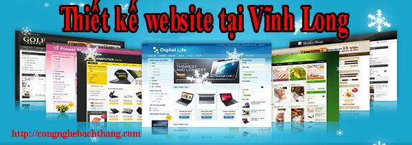 Thiết kế website tại Vĩnh Long giá rẻ CN BT