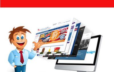 Thiết kế website đa cấp giá rẻ CNBT