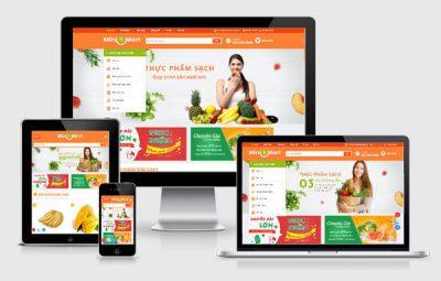 thiết kế website siêu thị chuyên nghiệp CNBT