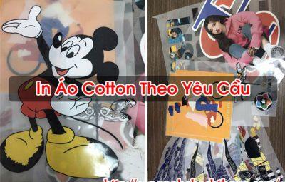 In Áo Cotton Theo Yêu Cầu