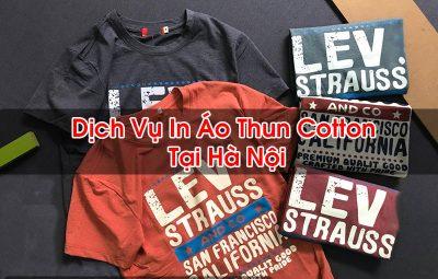 In Áo Thun Cotton Tại Hà Nội