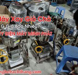 Máy Xay Giò Chả 2KG Giá Bao Nhiêu