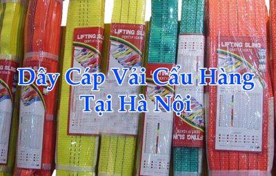 Dây Cáp Vải Cẩu Hàng Tại Hà Nội