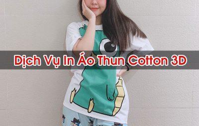 In Ao Thun Cotton 3d In Cong Nghe Bach Thang
