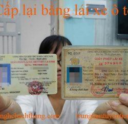 Cap Lai Bang Lai Xe O To